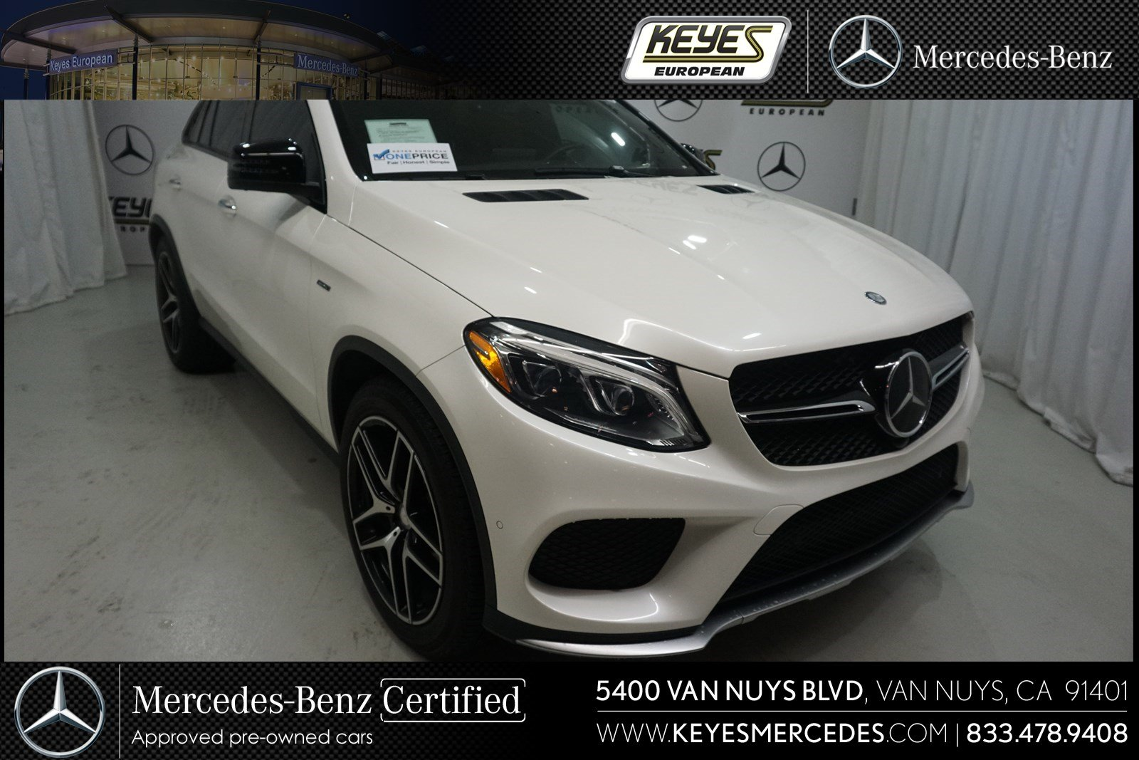Certified Pre Owned 2016 Mercedes Benz Gle 450 Amg