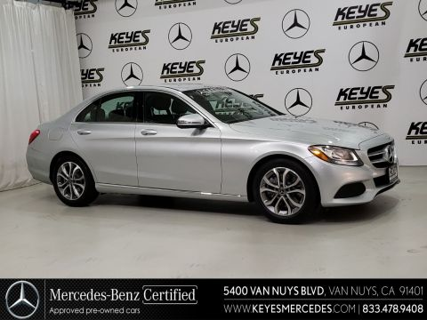Certified Pre-Owned 2017 Mercedes-Benz C-Class C 300 RWD 4dr Car
