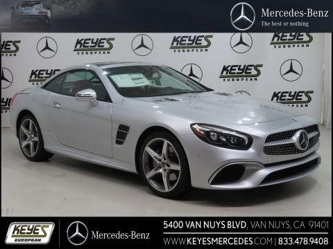 New 2019 Mercedes-Benz SL SL 550 With Navigation