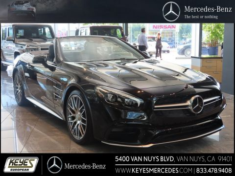 New 2018 Mercedes-Benz SL AMG® SL 63 With Navigation