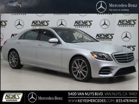 New 2018 Mercedes-Benz S-Class S 560 With Navigation