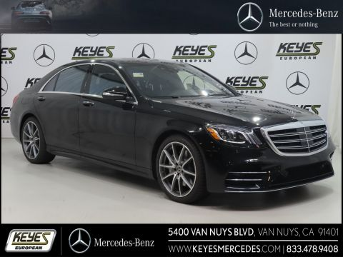 New 2019 Mercedes-Benz S-Class S 560 With Navigation