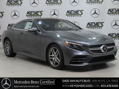 Certified Pre-Owned 2018 Mercedes-Benz S-Class S 560 AWD 4MATIC®